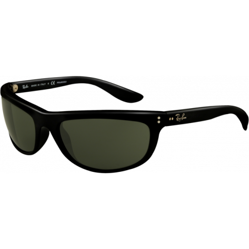 Ray-Ban Balorama II Shiny Black Green Polarized