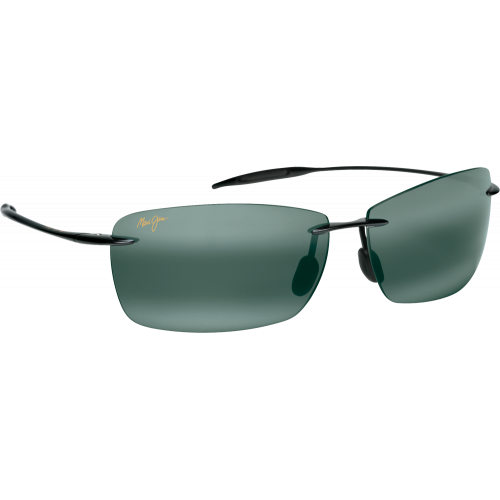 Maui Jim Lighthouse Gloss Black Neutral Grey Polar+