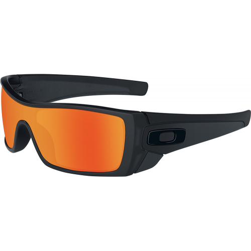 Oakley Batwolf Matte Black Ruby Iridium
