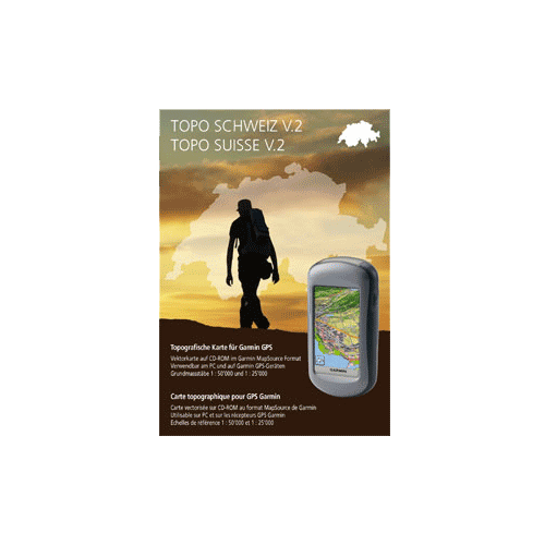 Garmin Topo East Switzerland DVD