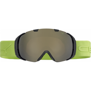 Cebe Masque de ski OTG Origins L Noir/Lime Dark Rose Flash Gold