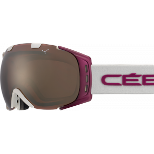 Cebe Masque de ski OTG Origins M Blanc/Cranberry Dark Rose Flash Gold