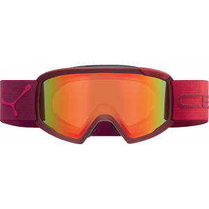 Cebe Masque de ski OTG Fanatic L Full Matte Red Orange Flash Fire