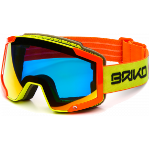 Briko Lava 7.6 Fluo Yellow/Orange Red Mirror
