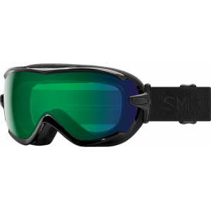 Smith Ski Goggles Virtue Black Mosaic ChromaPop Everyday Green