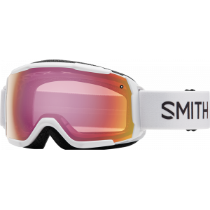 Smith OTG Ski Goggles Grom White Red Sensor Mirror