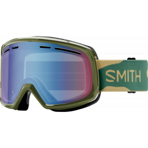 Smith OTG Ski Goggles Range Camo Blue Sensor Mirror