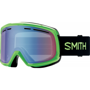 Smith OTG Ski Goggles Range Reactor Blue Sensor Mirror