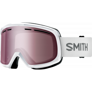 Smith OTG Ski Goggles Range White Ignitor Mirror