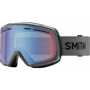 Smith OTG Ski Goggles Range Charcoal Blue Sensor Mirror