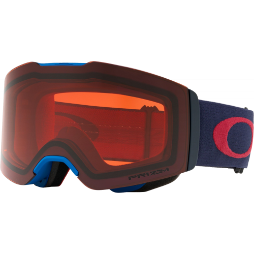 Oakley Masque de ski OTG Fall Line Blue Fathom Prizm Rose
