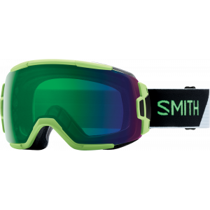Smith Ski Goggles Vice Reactor Split ChromaPop Everyday Green