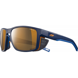 Julbo Shield Bleu / Bleu / Orange - REACTIV High Mountain 2-4 (Cameleon)