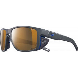 Julbo Shield Gris foncé / Noir / Bleu - REACTIV High Mountain 2-4 (Cameleon)