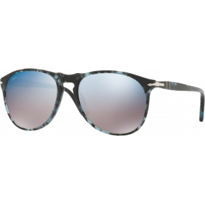 Persol 9649S Medium Blue/Grey Havana Grey Mirror Blue