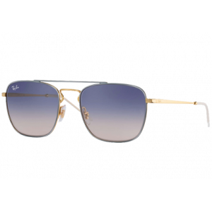 Ray-Ban RB3588 Grey Gold Blue Gradient