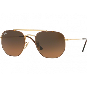 Ray-Ban 3648 The Marshal Havana Brun Dégradé Gris