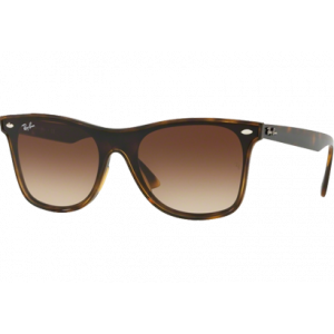 Ray-Ban Blaze Wayfarer Tortoise Brown Gradient