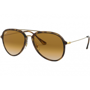 Ray-Ban 4298 Havane Or Marron clair Dégradé