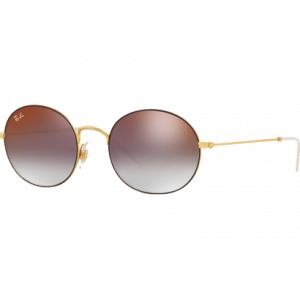 Ray-Ban 3594 RUBBER GOLD ON TOP BLACK