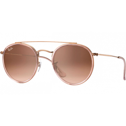 ray ban round brown