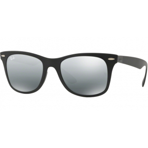 Ray-Ban Liteforce Wayfarer Black Grey Gradient Mirror