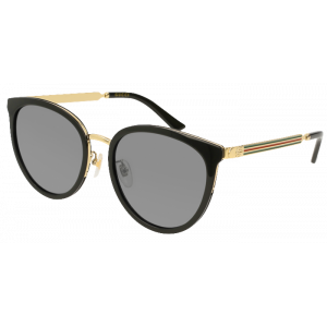 Gucci 77SK Black Gold Silver Flash