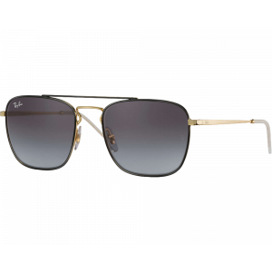 Ray-Ban RB3588 Black Gold Grey Gradient
