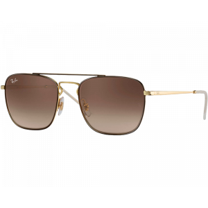 Ray-Ban RB3588 Marron Or Marron Dégradé