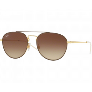 Ray-Ban RB3589 Brown Gold Brown Gradient