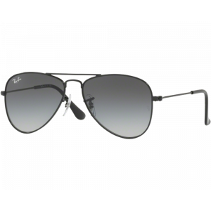 Ray-Ban Aviator Junior Noir Gris Dégradé