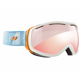 Julbo Elara Blanc/Orange/Turquoise Zebra Light Red Flash Rouge
