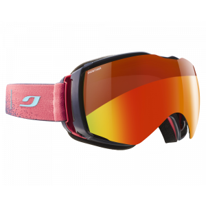 Julbo Masque de ski Aerospace Bleu sombre/Rouge dust Multilayer Fire