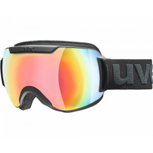 Uvex Downhill 2000 FM Black Mat Rainbow Mirror Rose