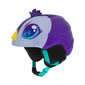 Giro Launch Plus Junior Purple Penguin