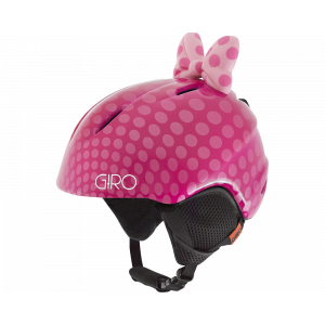 Giro Launch Plus Junior Pink Bow Polka Dots