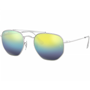 Ray-Ban The Marshal 3648 Silver Blue Gradient Mirror