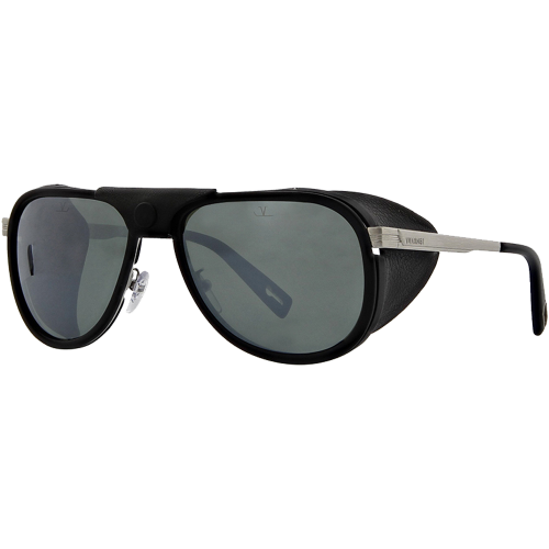 b8794a80276 Vuarnet Glacier Matte Black Silver Pure Grey Silver Flash - EyeShop