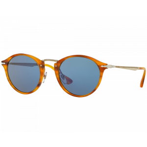 Persol 3166S Striped Brown Light Blue