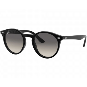 Ray-Ban Junior 9064S Noir / Dégradé Gris