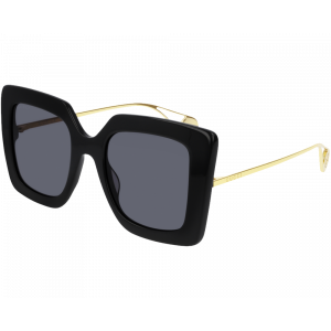 Gucci GG0435S Black Gold Gris