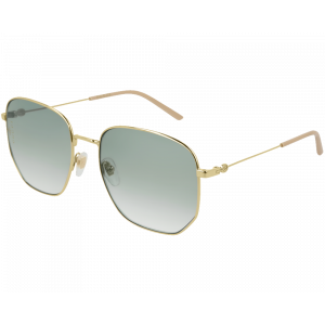 Gucci GG0396S Gold Green Gradient