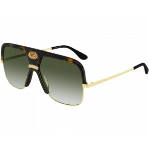 Gucci GG0478S Havana/Gold Green Gradient