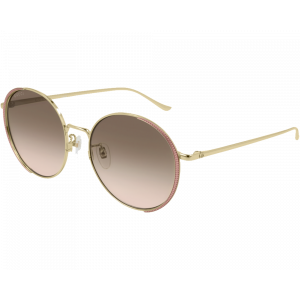 Gucci GG0401SK Gold/Pink Multicolor Gradient