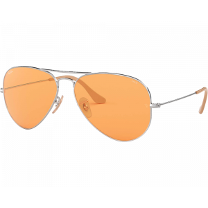 Ray-Ban RB3025 Aviator Evolve Argenté Orange Photochromique