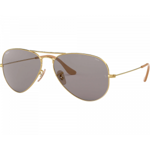 Ray-Ban  RB3025 Aviator Evolve Doré Gris Photochromique