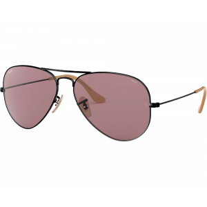 Ray-Ban RB3025 Aviator Evolve Noir Violet Photochromique