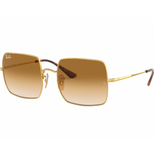 Ray-Ban 1971 Square Gold Clear Gradient Brown