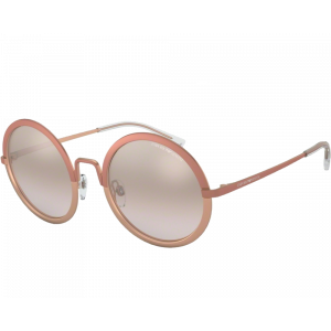 Emporio Armani EA2077 PINK/ROSE GOLD brown mirror silver gradient