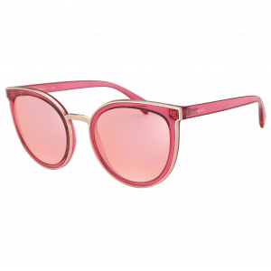 Emporio Armani EA4135 Transparent Raspberries/Pink Mirror Rose Gold